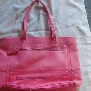 Hot pink handbag Nine West